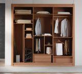 Garde-robe faite sur commande en bois solide de Chambre entière avec la porte coulissante 2