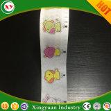 Tissu imprimé de bandes de papier-tissu frontale pour les matières premières couches de bébé