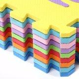Couvre-tapis coloré de casse-tête de transport de mousse d'EVA de prix usine
