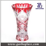 Пурпуровая декоративная стеклянная ваза (GB1508TY-1/P)