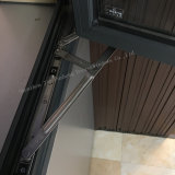 Stoffa per tendine di vetratura doppia di profilo di prezzi bassi/finestra di alluminio dell'oscillazione