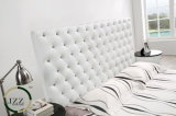 頭板デザインの現代柔らかい革ベッド