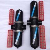Tipo manuale filtro da irrigazione di Screem del doppio, pp Boday di H per il trattamento delle acque