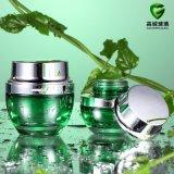 Les produits cosmétiques de lotion de verre bouteille et pot de verre