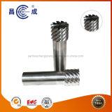 Customized poucos flautas carboneto sólido pernil de espiral de corte para fresar metais especiais,Steel,as ligas de alumínio, ligas de titânio,plástico,Carbono,Acrylic,PCB, PVC,etc