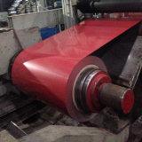 Espessura da folha PPGI 0.55mm bobina revestido de cores para a casa de metal corrugado de telhados