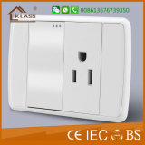 Сделано в Китае Огнестойкие ПК универсальный тройной розетку электросети