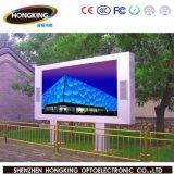 P10 cor cheia ao ar livre RGB que anuncia a tela do diodo emissor de luz