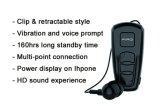 auriculares retráteis do bluetooth da vibração