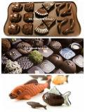 チョコレートの異なった形のための食品等級のパソコンチョコレート型