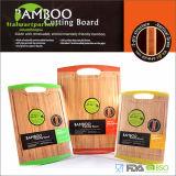 Kulinarisches Rand-Silikon verbundener Bambusausschnitt-Vorstand