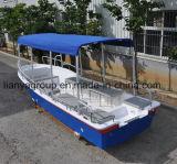 Liya 19 pieds bateau de chasse de croiseur de famille de fibre de verre/de bateau de pêche 50HP