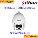 Dahua 8MP 4K PTZ IPのカメラSD6al830V-Hniを追跡する完全なHD 30Xの光学ズームレンズ500m IRの長距離の自動車