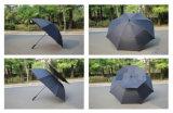 [هيغقوليتي] بالجملة مطر [شنس] صامد للريح لعبة غولف مظلة