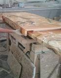 Pont en granit/de marbre de la meilleure qualité a vu les tuiles/partie supérieure du comptoir en pierre de découpage
