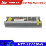alimentazione elettrica di 12V 20A LED con le HTC-Serie della Banca dei Regolamenti Internazionali di RoHS del Ce