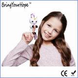 La nuova barretta interattiva scherza l'unicorno del bambino dei pesciolini del burattino del giocattolo (XH-FL-002)