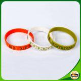 Fabrik-direkt kundenspezifischer Drucken-Firmenzeichen-Farben-SilikonWristband