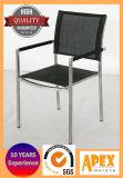 Im FreienEdelstahl-Stuhl-Textilriemen-Stuhl-Gaststätte-Möbel