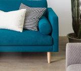 2017 Sala de tecido de design moderno mobiliário sofá (HCX08)