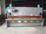 Macchina di taglio idraulica QC11y-8X3200 millimetro del piatto d'acciaio