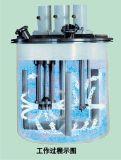 Mezclador de dispersión de la potencia de la goma de goma para el sellante del silicón