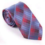 Nouveau design de mode de la nouveauté de la soie tissé de polyester/cravate (1209-03)