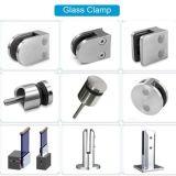 Qualitäts-Außenglasschelle zerteilt Halter-Halter-Glasbrettlagerung-Befestigungsteile für bereiftes Glas-Außenbalustraden