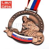 Medaglia su ordinazione più poco costosa di corsa con gli sci di Sochi del metallo di sport del premio dell'oro di alta qualità