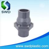 Venda a quente a irrigação de boa qualidade para a segurança de plástico de PVC oscilação do preço da válvula de retenção de água