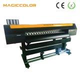máquina de impressão solvente principal da impressora Inkjet Dx5 Digitas Eco de 2.2m