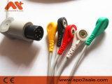 El ritmo de Direct Connect Tech 6pin Cable de ECG con derivaciones