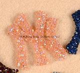Kunstmatig Ny van Hotfix Flard met de Flarden van Applique van het Bergkristal van het Kristal van het Glas van het Lovertje voor Kleding en Zakken