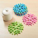 Couvre-tapis anti-calorique respectueux de l'environnement de Tableau en caoutchouc de silicones de vaisselle de cuisine