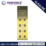 batteria alcalina libera delle cellule del tasto del Mercury 1.5V 0.00% per la vigilanza (AG3/LR41/LR736)