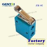 Хороший клапан кнопка Jm-06 2-Position Quanlity пневматический трехходовой ручной механически