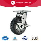 Hochleistungslaufkatze-Fußrolle mit seitlicher Bremse
