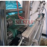 Saco de lixo automático do selo da estrela de Rewinder que faz a alta velocidade da máquina