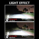 Super heller LED-Scheinwerfer-Konvertierungs-Selbstinstallationssatz H4
