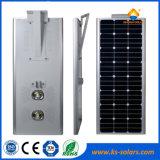 60W de Energía Solar de la luz de calle solar integrada con RoHS certificado TUV