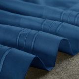 Sábana de color sólido de microfibra poliéster conjuntos de conjuntos de ropa de cama