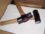 молоток розвальней 8lb/молоток клуба с деревянной ручкой в ручных резцах XL0120