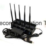 Draagbare GPS van de hoge Macht en de Mobiele Stoorzender van de Telefoon (GSM CDMA PCs van DCS 3G), de Regelbare Stoorzender van 5 Banden voor de Stoorzender van de Telefoon 2g+3G+WiFi+4G Cpjx503/Cell