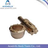 鉱山は対称的な包装鋭いシステムリングによってかまれるセンタービットに用具を使う