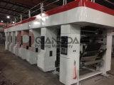 Stampatrice di rotocalco del sistema dei motori di Qiangda 7 per le pellicole del PE