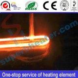 Elemento de aquecimento elétrico da câmara de ar do aquecimento de quartzo da fibra do carbono do infravermelho distante