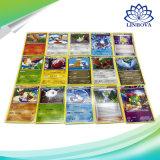 Le dessin animé Sun et les animaux anglais de jeu de carte de commerce de cadre de servocommande de Pokemon de lune vont des cartes pour des jouets de gosse