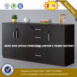 Mobiliário de escritório executivo couro de madeira cadeira visitante (HX-8N1583)
