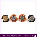 Tasto di combinazione del metallo + della resina degli accessori dell'indumento che cuce per il rivestimento /Clothing /Coat