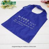 Type de sac à provisions et matériau se pliants pliables promotionnels de polyester bon marché